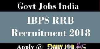 IBPS RRB Recruitment 2018