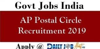 ap postal notification 2019 Archives - Daily Job Alert 2019-20